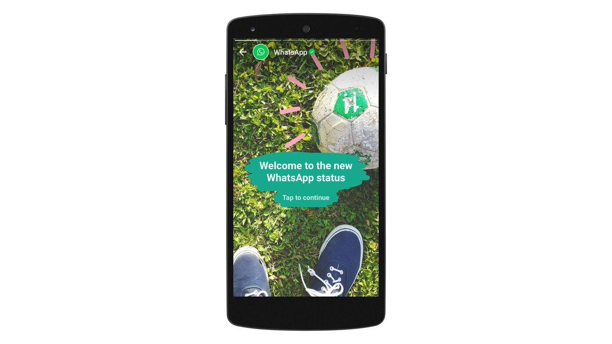 WhatsApp Launches Status (Snapchat clone?) https://t.co/4SEllcD4kE