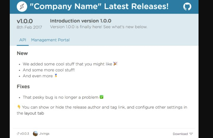 ReleasePage : Create beautiful pages for your software releases https://t.co/tbn2rfOzX1
