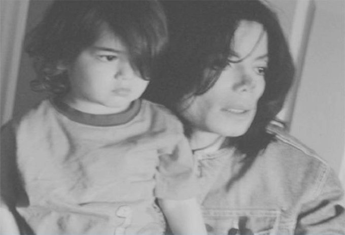 Happy 15th birthday Prince Michael Jackson II