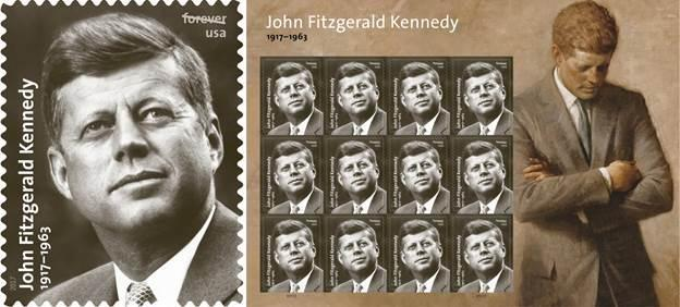 A new Postal Service stamp pays homage to President Kennedy 100 years after his birth https://t.co/ghcOafOoxa