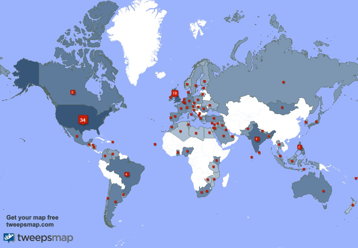 I have 66 new followers from USA, UK., Canada, and more last week. See https://t.co/xlRFm8Oo88 https://t.co/Mc9vwQVrzq