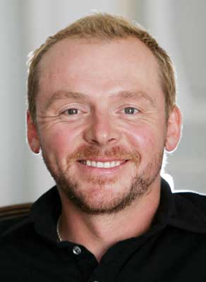 Happy 25th Martian Birthday Simon Pegg!  Remessage