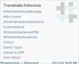 Trend Alert: '200 PADAT'. More trends at https://t.co/OMCuQPRWwL #trndnl https://t.co/miSm7gY7J2