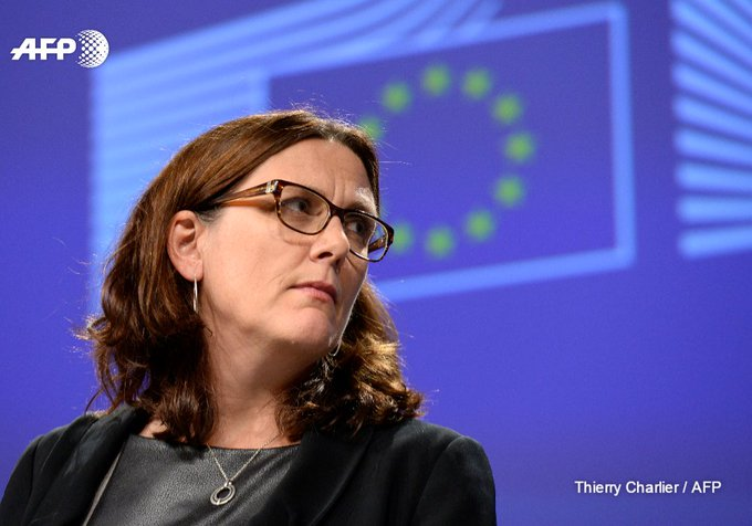 Donald Trump's hostility to free trade is benefitting the EU, says trade commissioner Cecilia Malmstrom https://t.co/LX2q9R6fsG