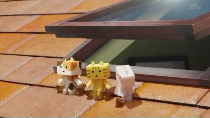 #にゃんぼー! 21話トラが教えたのだからコトラには絶対!学校は怖い所ですよ~騒いだり物音1つでもさせたら…バケツを持っ