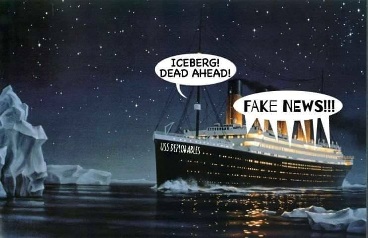 #Brexit and #Trump in a nutshell… #FakeNews … #SpotOn