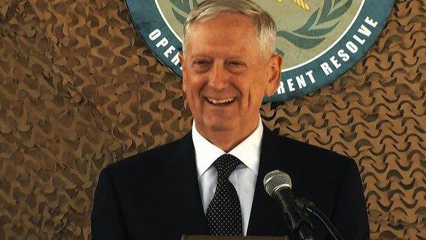 وزير الدفاع الاميركي