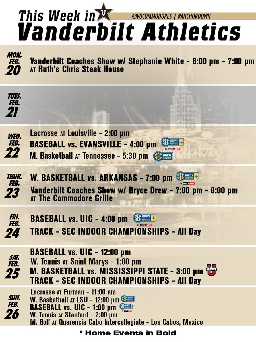 Big week on West End! #AnchorDown 👇 https://t.co/b3N6xaoUQj