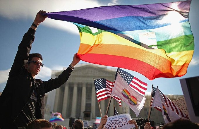 Teen suicide attempts in the US declined after same-sex marriage became legal, study finds. https://t.co/NTK7jEy9PT