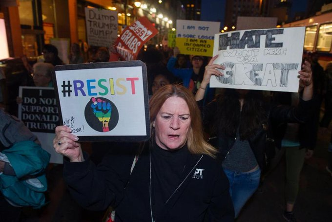 Thousands turn out for 'Not My President's Day' https://t.co/0YW3iqCTg2