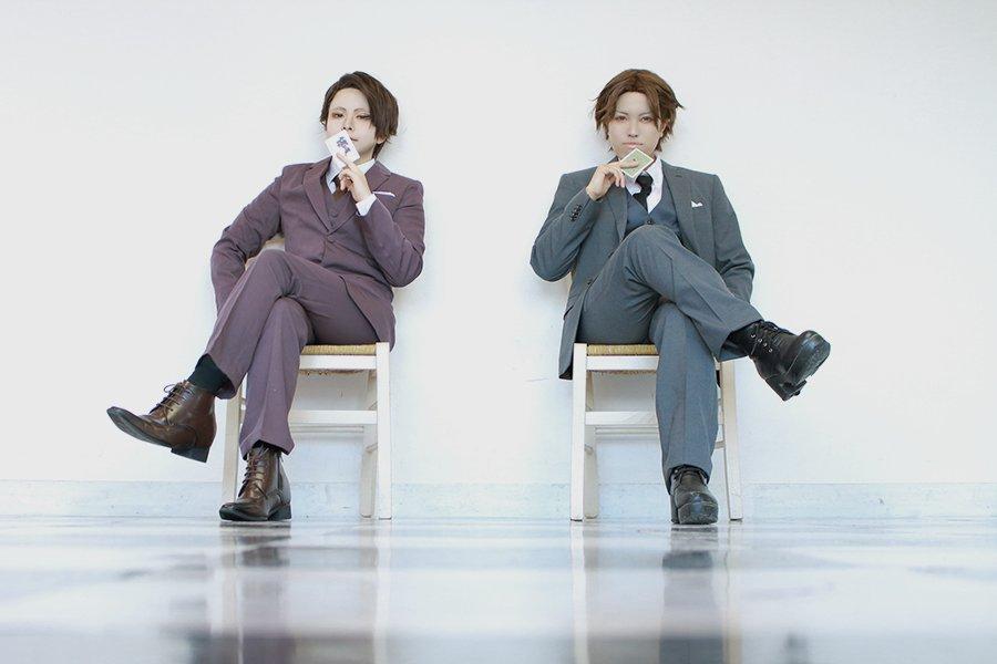 【cosplay】三好 / ジョーカー・ゲーム甘利*みやこさん( )撮影*ミドリさん( )