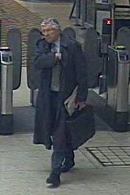 A guy walked up to a member of rail staff, spat at her and threw his coffee over her.  Disgusted? So are we  Recognise this man? Let us know