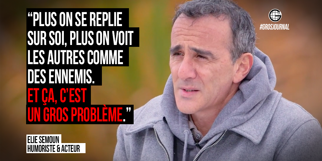 «Plus on se replie, plus on voit les autres comme des ennemis. C'est un gros problème.» - @SemounElie #GrosJournalhttps://t.co/qV2XvTehYR