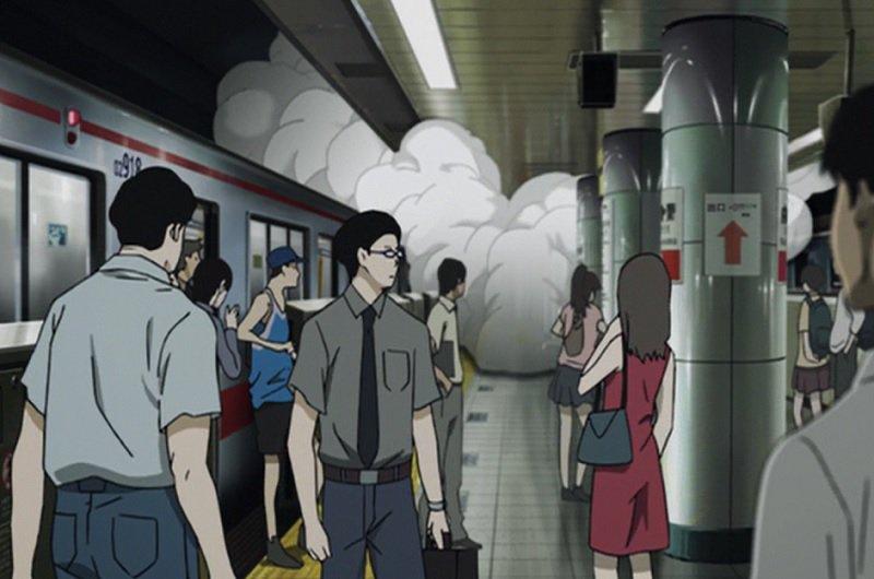 東京メトロ丸ノ内線 新宿駅での信号関係点検の影響で沿線各駅大混雑#残響のテロル 5.HIDE & SEEK 丸の
