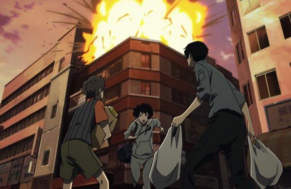 「携帯用コンロつけようとしたら爆発」アパート火災 2/21 19:03#残響のテロル 8.My Fair Lady リサ