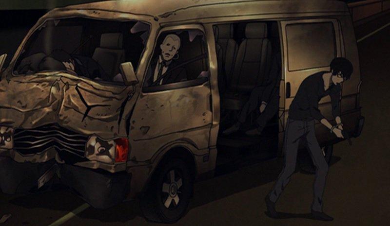 千葉・流山市で車が横転、助手席の女性が左腕骨折 2/21 0:31#残響のテロル 10.HELTER SKELTER ナ