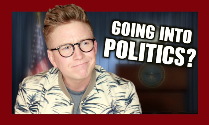 NEW VIDEO: 'Quit YouTube For Politics?': https://t.co/K8kvzeMKkU (RT for a DM, sending out a bunch today!! 💙❤️)