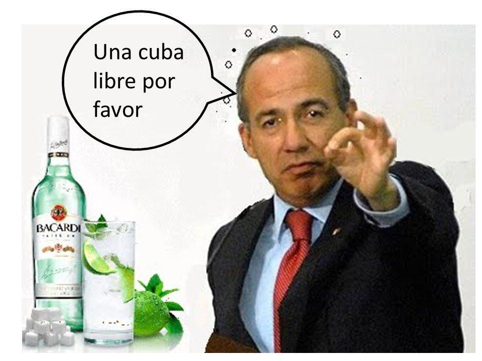 Cuba niega la entrada a Felipe Calderón y usuarios de redes se mofan de él con MEMES https://t.co/YX0iFoS4WO