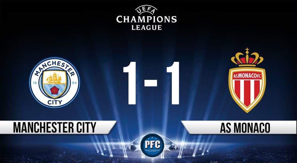 Champions League  ⚽️ BUUUUUUUUUT DE FALCAO !!  🇬🇧Man. City 1-1 Monaco🇫🇷