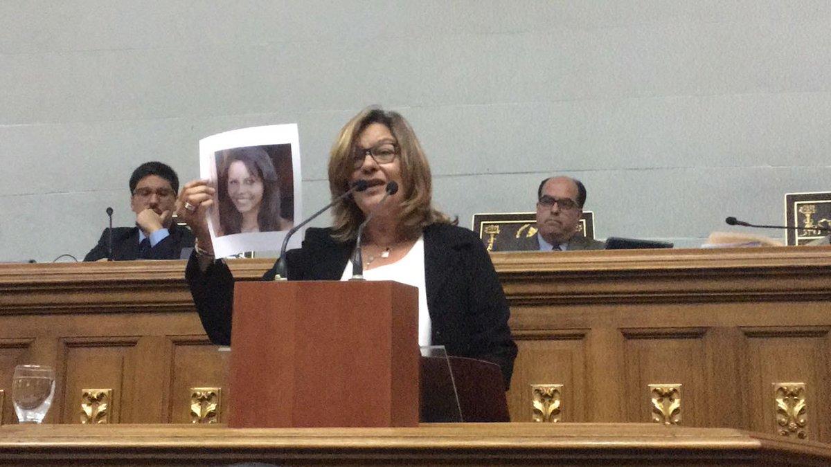 Rosa Orozco: mi hija tendría 27 años, de no ser por ese disparo a quemarropa de parte de funcionarios policiales. #SesiónAN