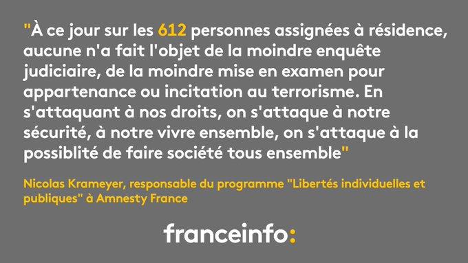 Une année 2016 'extrêmement préoccupante' pour les droits de l'homme en France, selon Amnesty International https://t.co/e88aJZ5TPJ