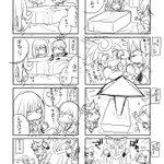 TVアニメ『カードファイト!! ヴァンガードG』主題歌集の発売を祝して、『みにヴぁん』のQuily先生直筆の落書き漫画を