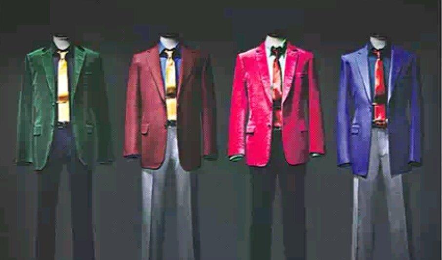 【22日付 MJから】伊勢丹新宿本店で「ルパン三世」イベントが始まりました。例の色鮮やかなジャケットは約17万円から。五