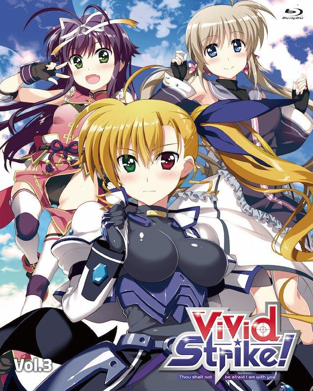 本日はBlu-ray&DVD「ViVid Strike!」Vol.3発売日!映像特典として収録される新作OVA