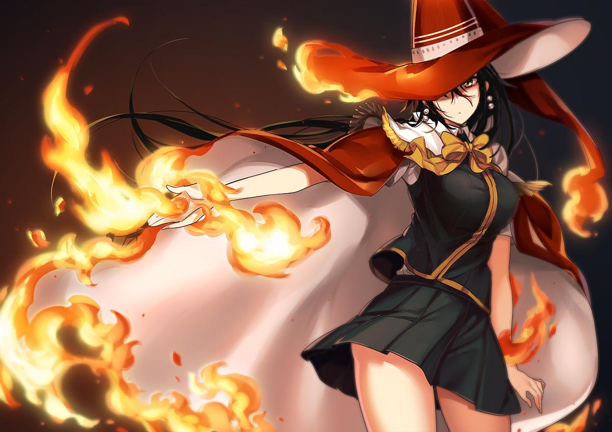> ウィッチクラフトワークスの火々理綾火さん。