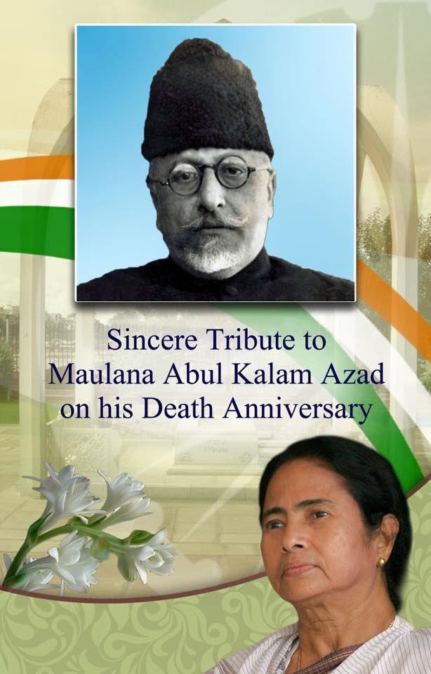 Sincere tribute to Maulana Abul Kalam Azad on his death anniversary