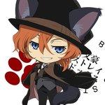 【222猫の日!】よこはにゃの街を颯爽と歩くぽーとまふぃにゃの幹部、中原くんもにゃん!しっぽがふわっふわの黒猫です! #