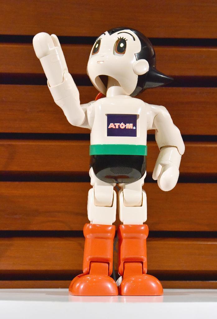 「鉄腕アトム」が家庭に AI搭載のロボット開発 https://t.co/0yidPVKEae