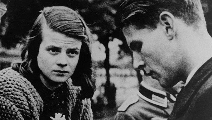 'Weiße Rose': Heute vor 74 Jahren wurden die Geschwister Hans und Sophie Scholl hingerichtet (@einestages-Archiv) https://t.co/ouZq1p5mah