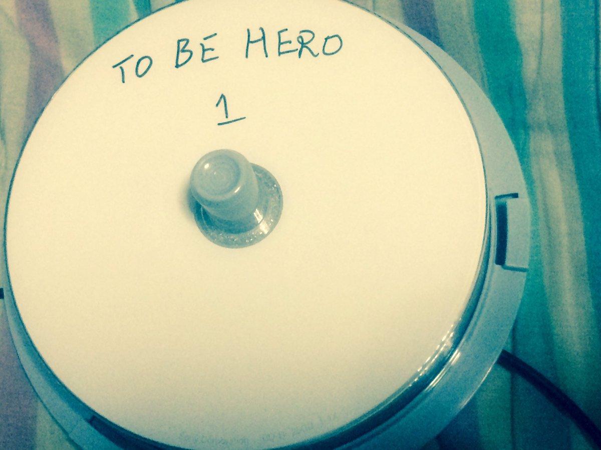 そんな私は今TO BE HEROダビング作業中です。ブルーレイとかもし出るならオーディオコメンタリーとか声優さん達のラジ