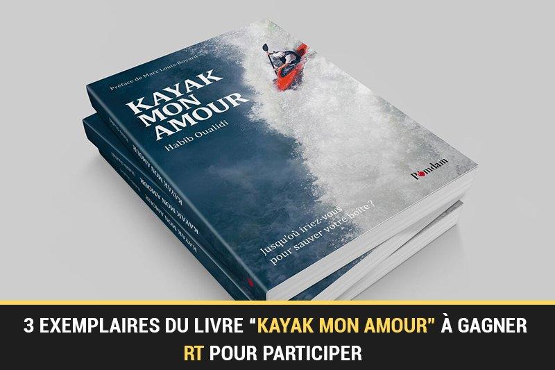 #CONCOURS : 3 exemplaires du livre 'Kayak mon amour' à gagner avec @KayakCom pour les passionnés de l'entrepreneuriat ! #RT pour participer