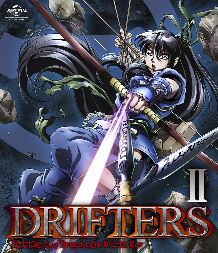 本日22日は通常版2巻の発売日となっております!源氏バンザイ!#drifters