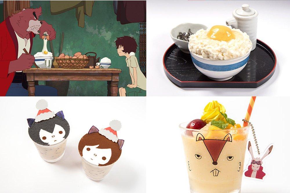 「時をかける少女カフェ」福岡パルコに -『サマーウォーズ』や『バケモノの子』に登場する料理も -