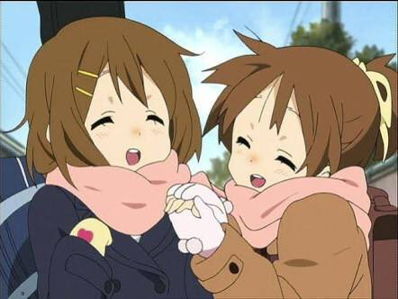 憂誕生日おめでとう!仲のいい姉妹ですごく楽しそう!これからもお姉ちゃんの世話頑張ってね!#けいおん#平沢憂生誕祭 #平沢