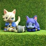 【#猫の日】2月22日はネコの日♪ということで、「おるふぇんちゅ2」のニャラルホルンを!ネコの日だけどアインも◎癒される