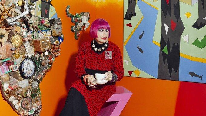 Wonder walls: Stylist peers into the art collections of top UK fashion designers https://t.co/CFqP3V1iy2