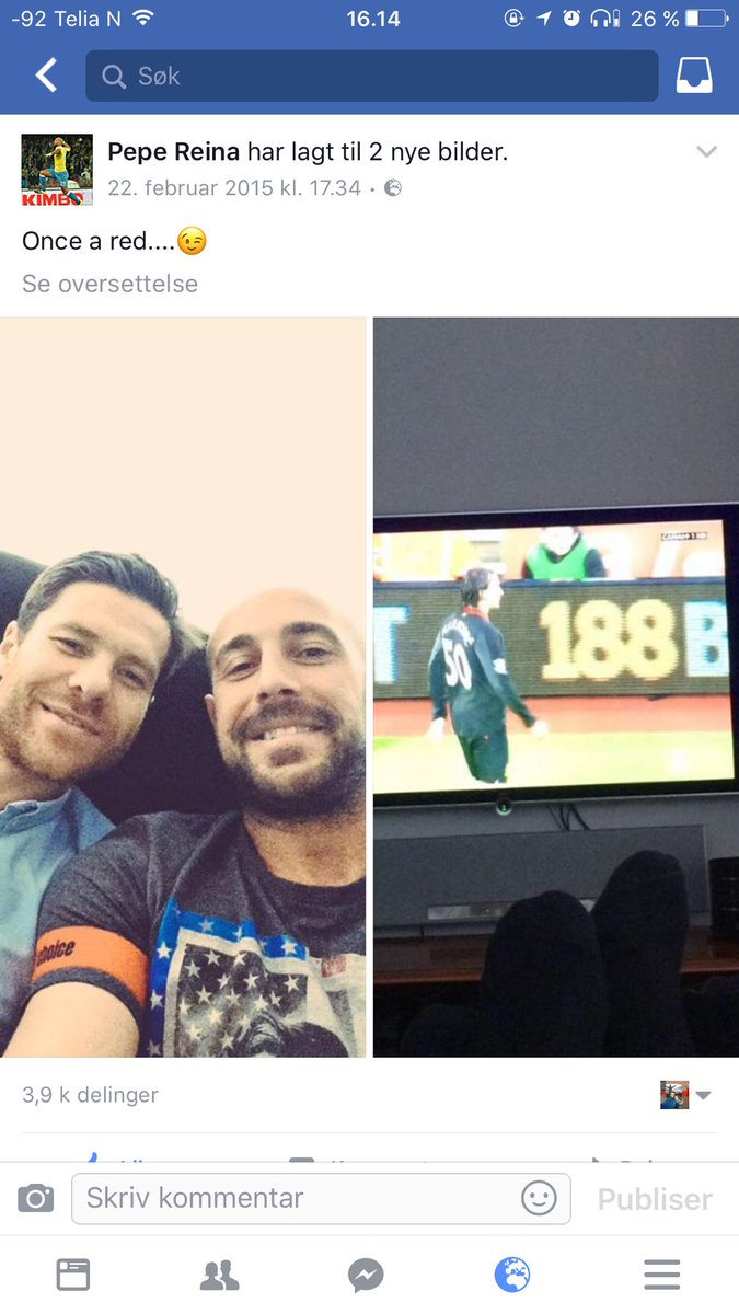 2 år siden Reina og Alonso så Liverpool slå Southampton 2-0. Legender. https://t.co/1rF9RhgyH1