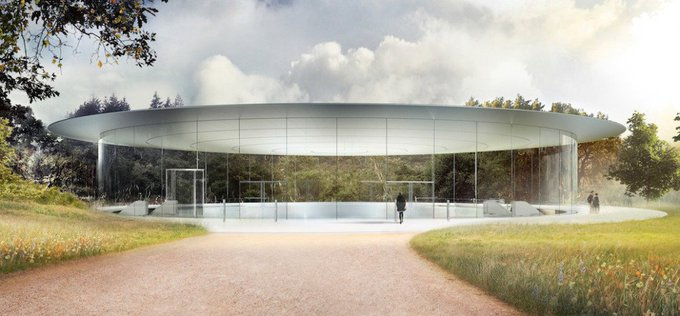 Apple's massive new spaceship campus opens in April https://t.co/m1N9dY37gr