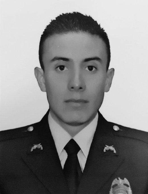 Falleció patrullero que fue herido durante atentado terrorista en Bogotá