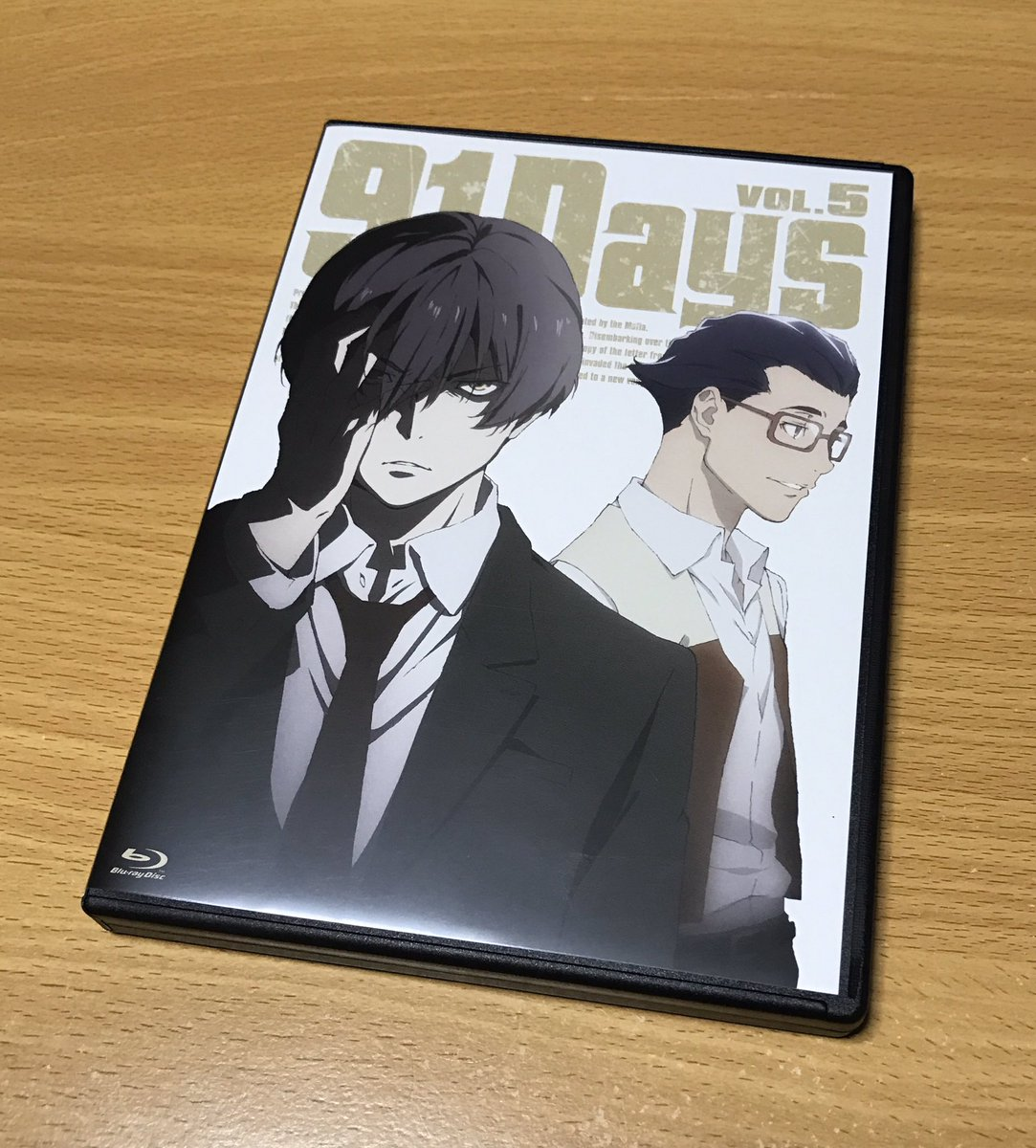 『91Days』Blu-ray第5巻が届きましたー!アヴィリオ、いい表情だ…#91Days
