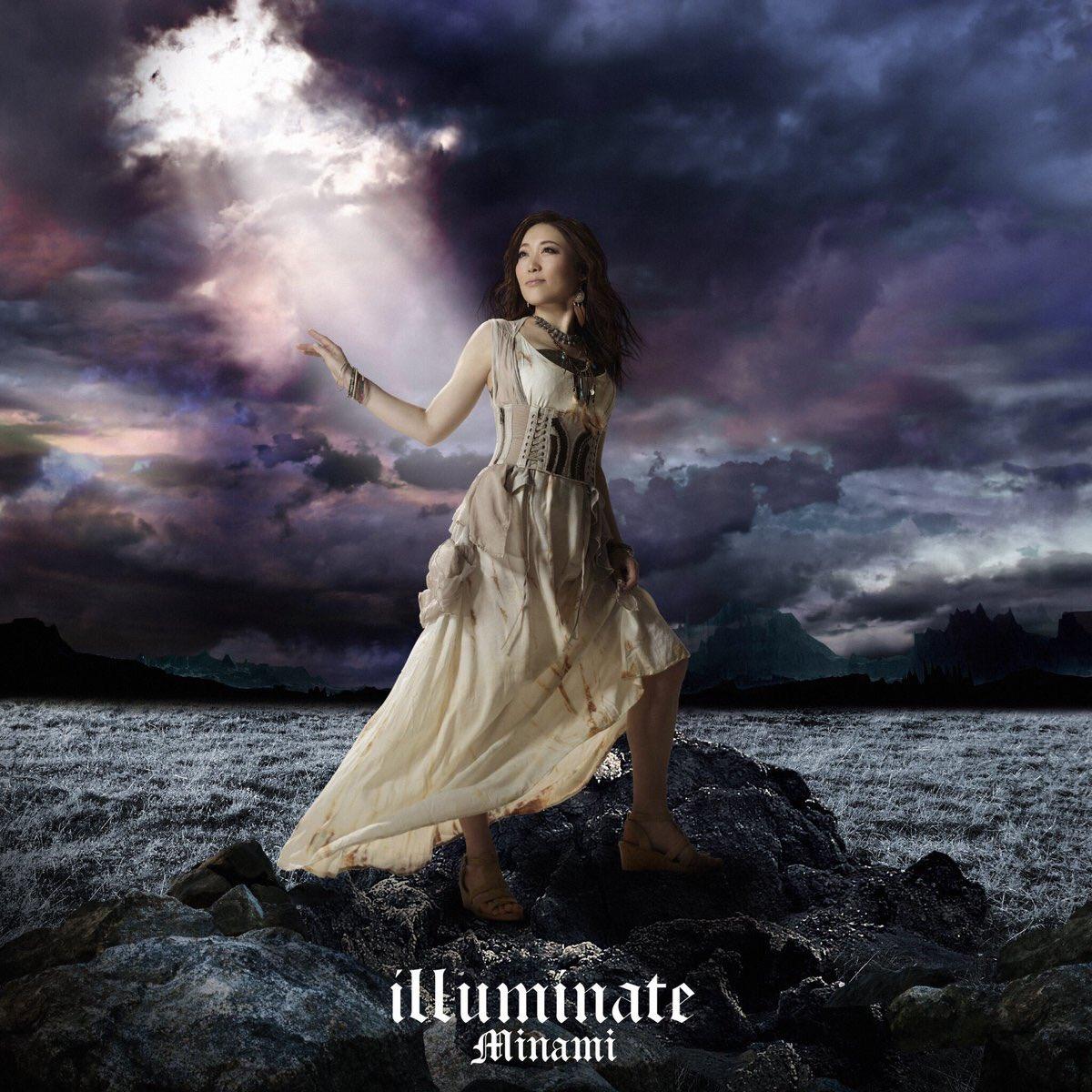 本日発売Minamiさん NEWシングル『illuminate』M1.illuminate作曲とベース担当させて頂きまし