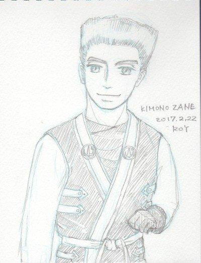 ニンジャゴー絵(擬人化) ZANEファミリーネームのジュリアンっていうのが響きがきれいでとても好きです。kimono r