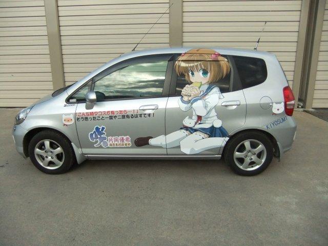 2009年11月から現在に至るまで「咲-Saki-」の片岡優希仕様。 #痛車仕様遍歴