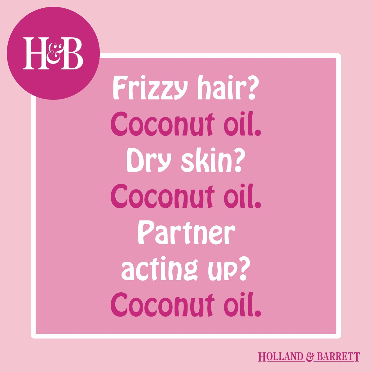 #CoconutOil...we use it for everything. Well, almost everything! https://t.co/KONZHqeJlE https://t.co/4C9OF3OCcl