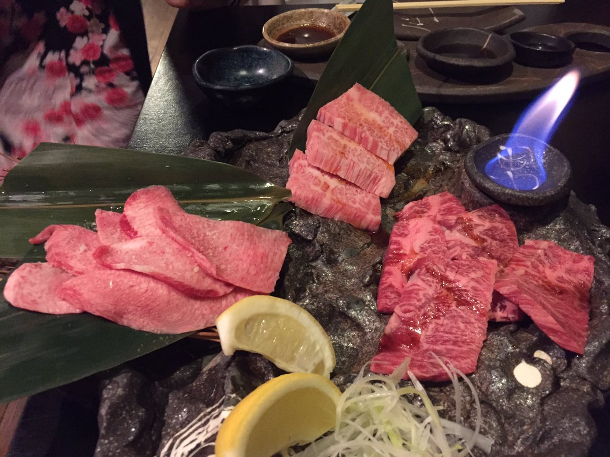 Japanese grilled meat including wagu beef. #Tokyo #foodie #wednesday #travel
