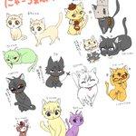 【にゃーゔぁんぷ】SERVAMPキャラ猫化してみた🐾 #猫の日